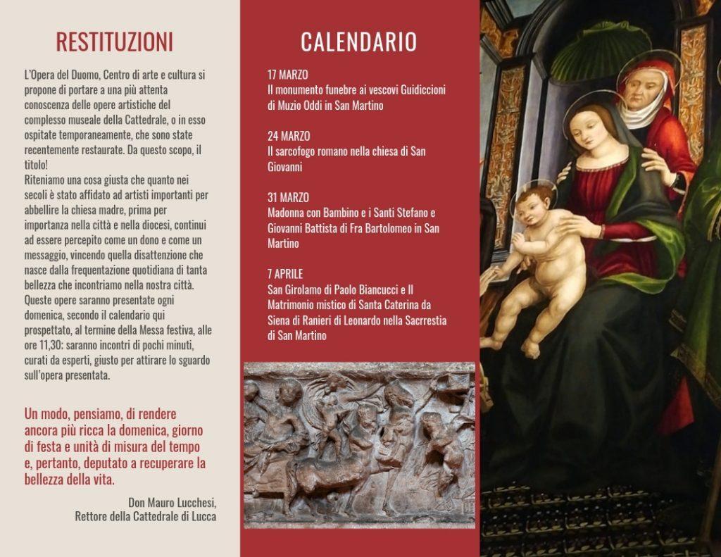 Giorno Di San Martino Calendario.Restituzioni 10 Minuti Dopo La Messa Per L Arte La Storia