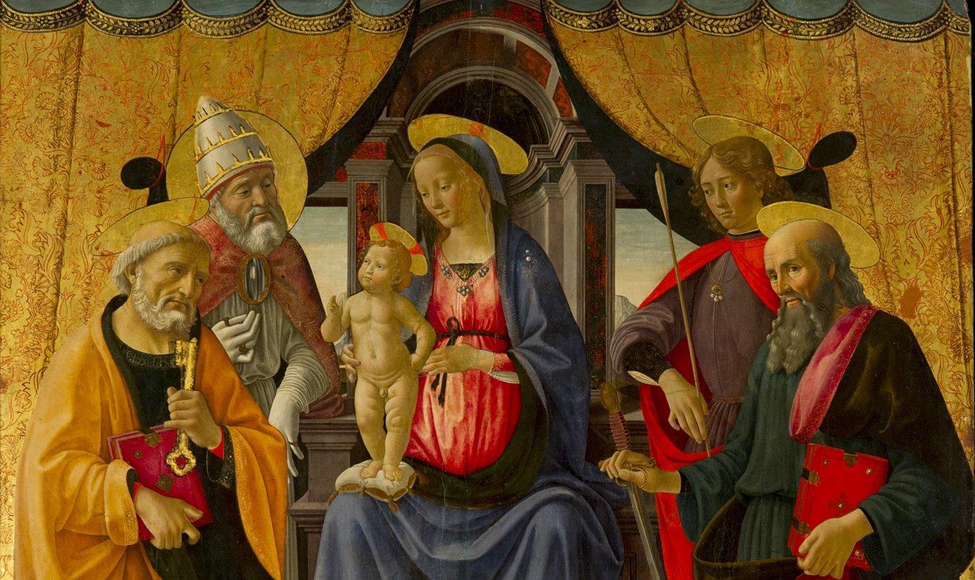 Sacra conversazione del Ghirlandaio nella cattedrale di Lucca