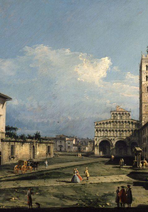 Bernardo-Bellotto-Piazza-San-Martino-con-la-cattedrale-Lucca-1740-York-City-Art-Gallery